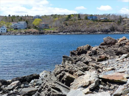 View across the North West Arm of Halifax Harbour from Point Pleasant Park