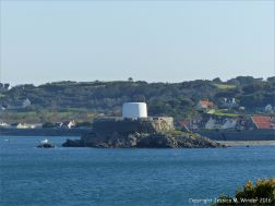 Fort Grey at Rocquaine Bay in Guernsey