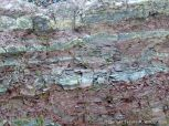 Close-up of natural rock texture and pattern