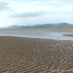 Context shot for the natural sand patterns at Inch