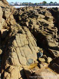 Xenolith in Cobo Granite