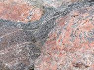Texture and pattern in Devonian plutonic rocks in Cape Breton Island, Nova Scotia, Canada.