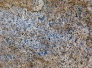 Close-up of texture and pattern in Devonian plutonic rocks used as rip-rap at White Point Harbour in Cape Breton Island, Nova Scotia, Canada.