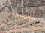 Rock patterns at Black Brook Cove