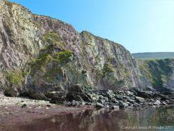 Cliffs at Dunquin Harbour