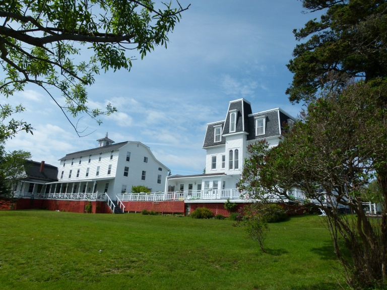 The Marathon Inn on the island of Grand Manan in New Brunswick, Canada.