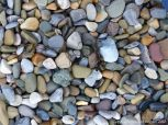 Pebbles near Twlc Point at Broughton Bay on the Gower Peninsula in South Wales