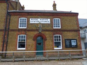 The Royal Native Oyster Stores at Whitstable