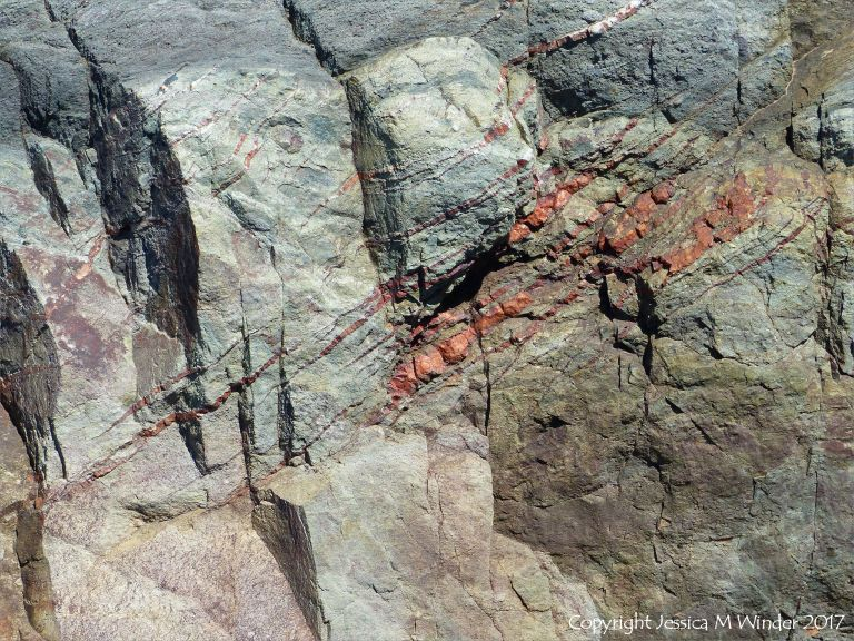 Rock colour, pattern, and texture in the Main-a-Dieu sequence on Cape Breton