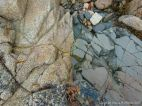 Contrasting rock types