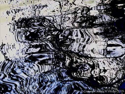 Pattern on water surface