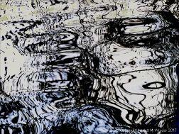 Pattern on water