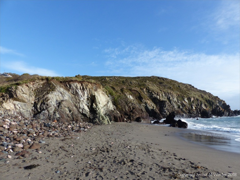 View of the north end of Kennack Sands