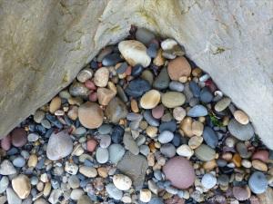 Pebbles at Langland Bay