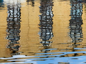 Abstract reflections on water