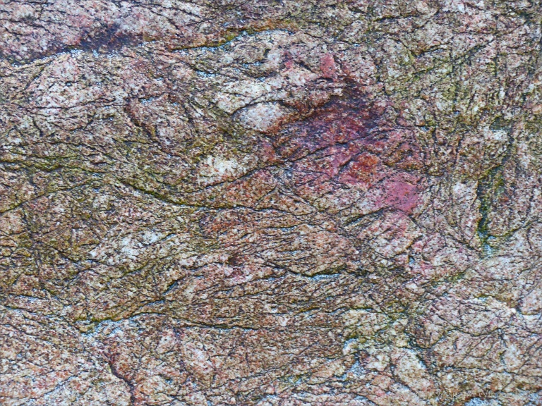 Details of rock texture and pattern at Kynance Cove