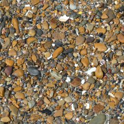 Small pebbles at Point of Hellia in Orkney