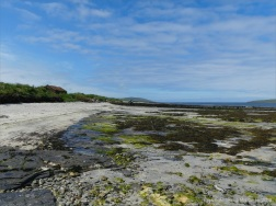 View looking westwards on the beach at Grit Ness