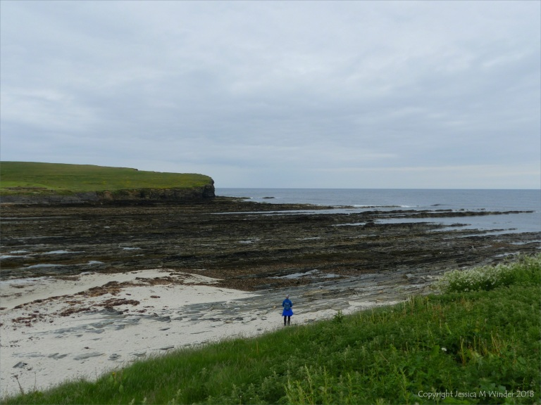 View looking southeast to Point of Snusan at Birsay
