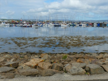 View from a walk around Kirkwall Harbour in Orkney