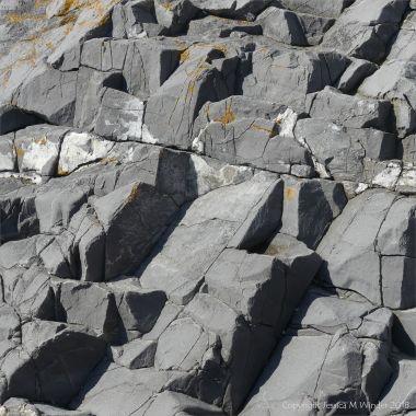 Strata at Spaniard Rocks
