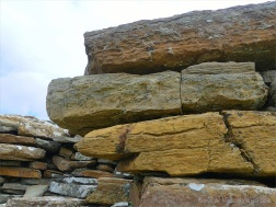 Ancient stones in early building constructions