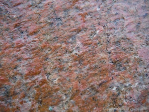 Natural pattern and colour on granite rock