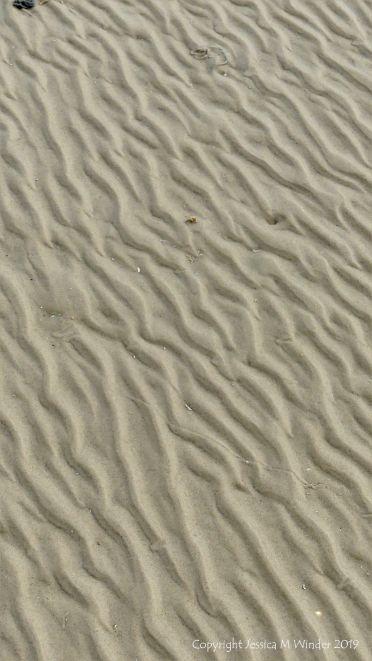Sand Patterns at Waulkmill Bay 1