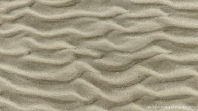 Sand Patterns at Waulkmill Bay 4
