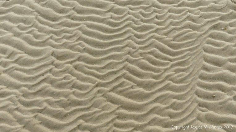 Sand Patterns at Waulkmill Bay 5