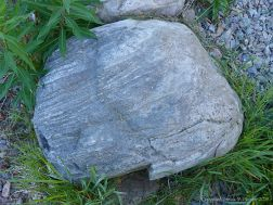 Boulder on the bank of Loch Ness