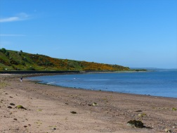 The beach at Cromarty