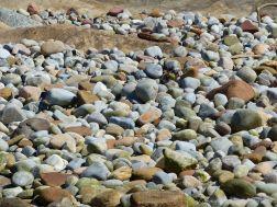 Pebbles at Portmahomack