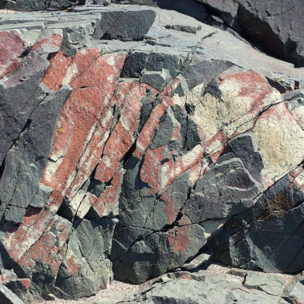 Rhyolitic basalt at Main-a-Dieu in Cape Breton
