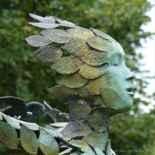 "Bronze sculpture ""Zephyr"" by Simon Gudgeon"