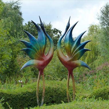 """Pictures from the gardens at """"Sculpture by the Lakes"""""""