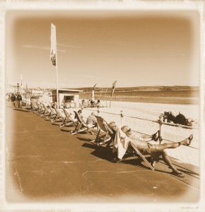 An old fashioned day out at the seaside