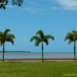 Cairns esplanade in Queensland