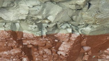 Triassic rock at Barry Island