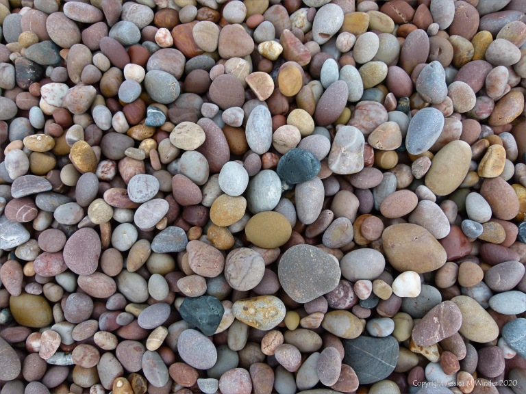 Pebbles on the beach at Budleigh Salterton