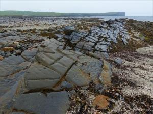Rocks on the beach at Birsay Bay