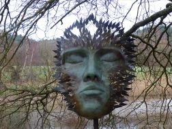 Simon Gudgeon sculpture by the lakes
