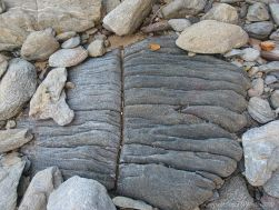 Rock formation at Trinity Beach