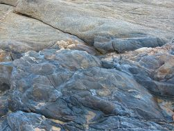 Rock pattern and texture at Trinity Beach