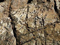 Rock texture and pattern at Moulin Huet Bay