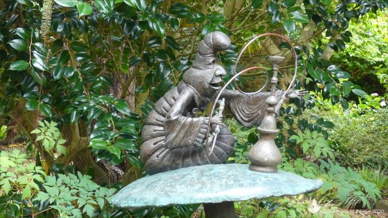 Sculpture at Abbotsbury Subtropical Gardens